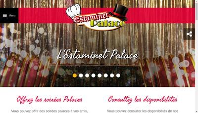 Site internet de Estaminet Palace
