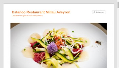 Site internet de Restaurant Estanco