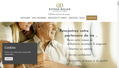 Site internet de Esther Kellen