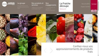 Site internet de Transports Frigorifiques Touraine Tft