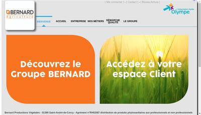 Site internet de Etablissements Pierre Bernard