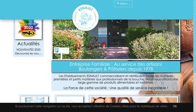 Site internet de Etablissements Esnault