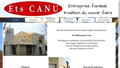 Site internet de Etablissements Canu
