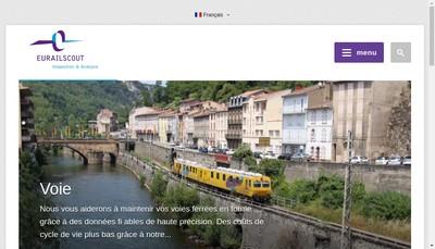 Site internet de Eurailscout France