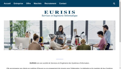 Site internet de Eurisis SA