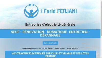 Site internet de Farid Ferjani