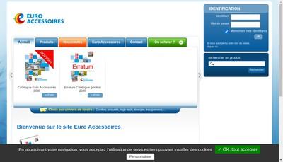 Site internet de Trigano Accessoires