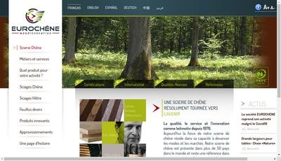 Site internet de Eurochene