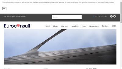 Site internet de Euroconsult