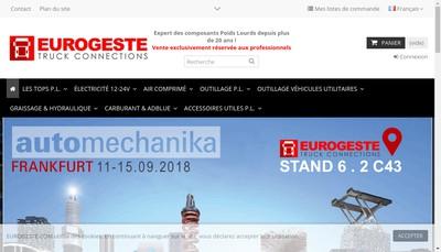 Site internet de Eurogeste