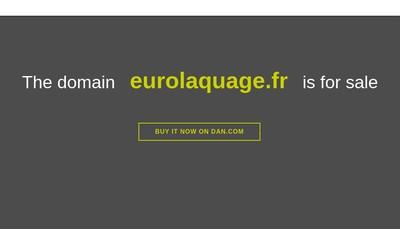 Site internet de Euro Laquage
