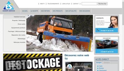 Site internet de Europe Service