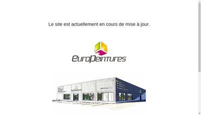 Site internet de Euro Peintures
