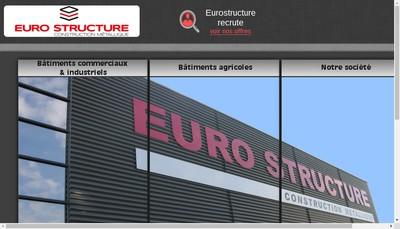 Site internet de Euro Structure Ingenierie