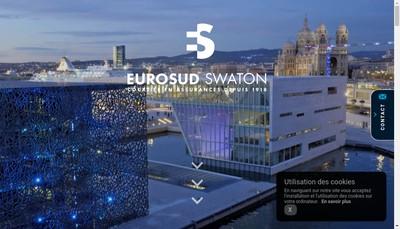 Site internet de Eurosud Patrimoine