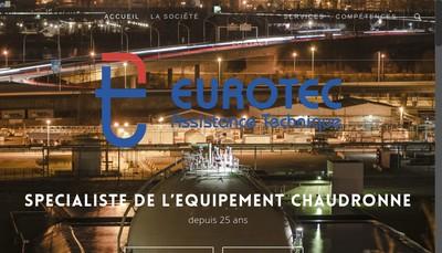 Site internet de Eurotec