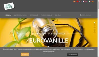 Site internet de Eurovanille