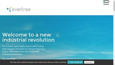 Site internet de Evertree