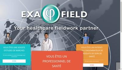 Site internet de Exafield International