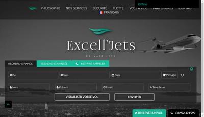 Site internet de Excelljets