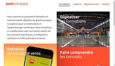 Site internet de Exm Company