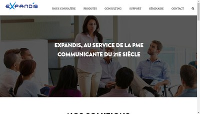 Site internet de Red Pulse