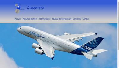 Site internet de Expertia Ingenierie