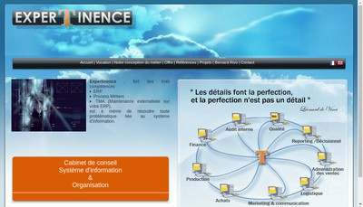 Site internet de Expertinence