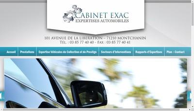 Site internet de Cabinet Exac