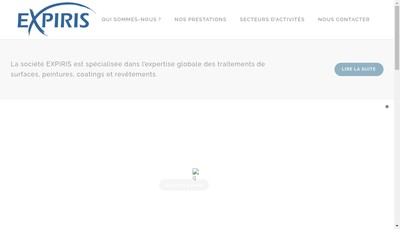 Site internet de Expiris Marine