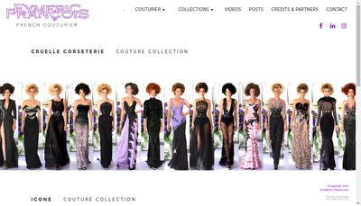 Site internet de Eymeric Francois SARL
