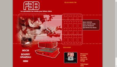 Site internet de F3B-Moulds