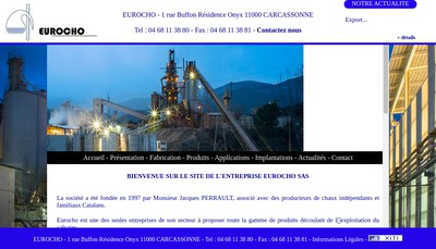 Site internet de Eurocho