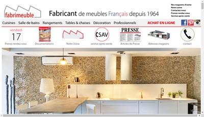 Site internet de Fabrimeuble