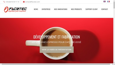 Site internet de Facotec