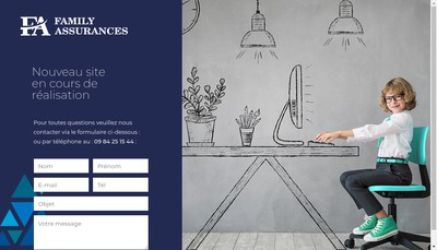 Site internet de Family Assurances