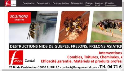 Site internet de Farago Cantal