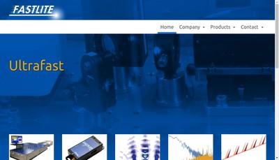 Site internet de Fastlite