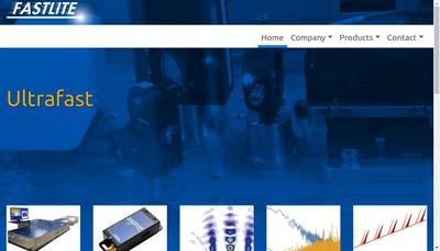 Site internet de Fastlite Group