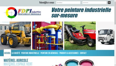 Site internet de FDP Industries