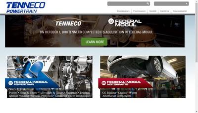 Site internet de Federal Mogul SAS