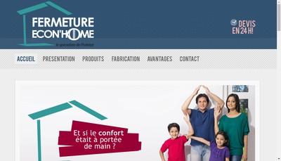 Site internet de Fermeture Econ'Home