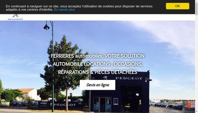 Site internet de Holding Ferrieres Automobiles