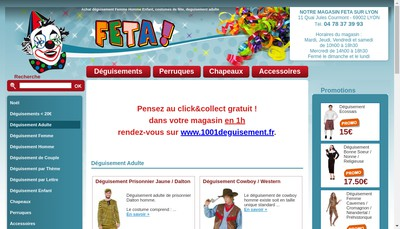 Site internet de Feta