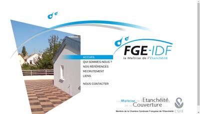 Site internet de FGE - Idf