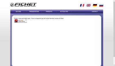 Site internet de Manufacture de Caoutchouc Fichet
