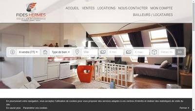 Site internet de Cabinet Fides Hermes