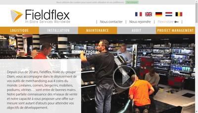 Site internet de Fieldflex Europe