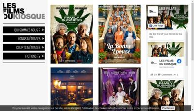 Site internet de Les Films du Kiosque