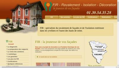 Site internet de Fir Developpement